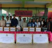 คณะ ATTA พร้อมด้วยสมาชิกร่วมเดินทางลงพื้นที่จังหวัดสกลนคร มอบบริจาคเงินและสิ่งของช่วยเหลือให้กับโรงเรียนที่ประสบอุทกภัย